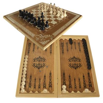 """Шахматы 3 в 1 (шахматы, нарды, шашки) """"Вероника"""""""