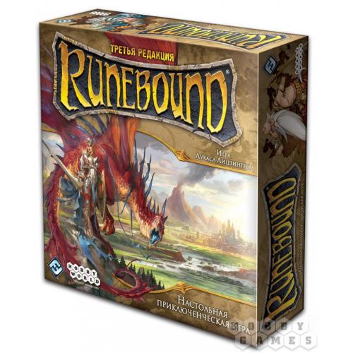 Настольная игра Рунибаунд (Runebound)