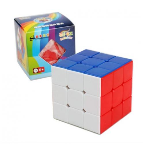 Кубик рубик 3х3х3 (пластик)