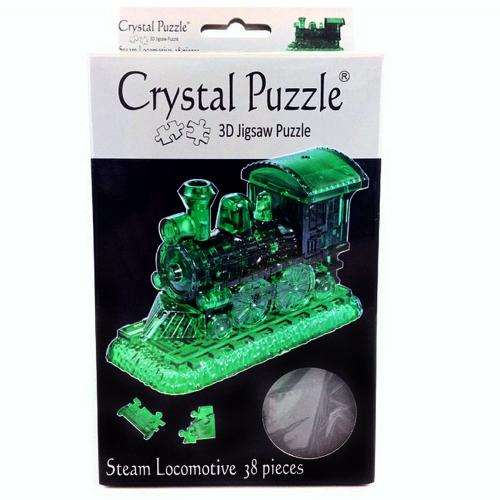 3Д пазл (crystal puzzle 3d) Паровозик