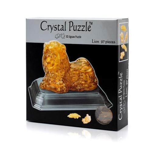 3Д пазл (crystal puzzle 3d) Лев