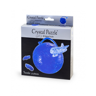 3Д пазл (crystal puzzle 3d) Путишественник