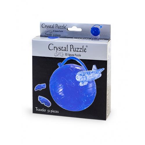 3Д пазл (crystal puzzle 3d) Путишественник