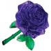 3Д пазл (crystal puzzle 3d) Роза