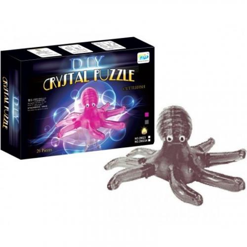 3Д пазл (crystal puzzle 3d) Осьминог