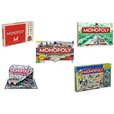 Монополия (Monopoly), все виды игры монополия