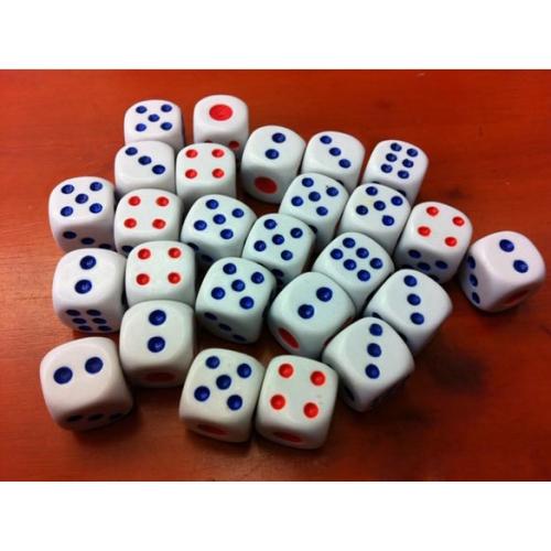 Кубик для нард мини D6 дайсы (dice)