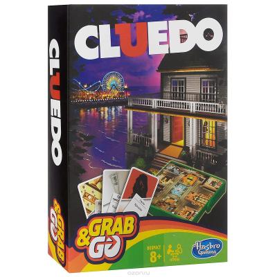 Клуэдо (Cluedo) дорожная настольная игра