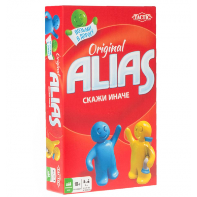 Алиас компакт (Alias Original, элиас) оригинал настольная игра